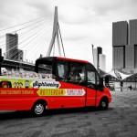 Sightseeing Rotterdam - Splashtours - cabrio bus