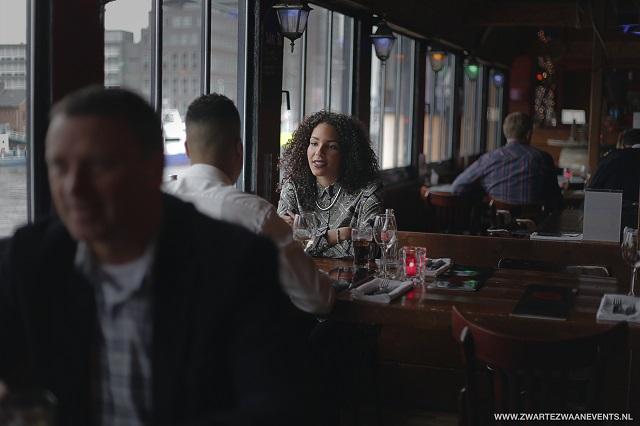 lunch - lunchen - de zwarte zwaan - rotterdam - splashtours